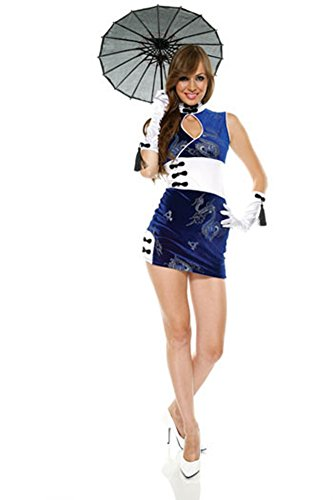 China Doll Lg Xlg Halloween Costume - Adult Extra Large