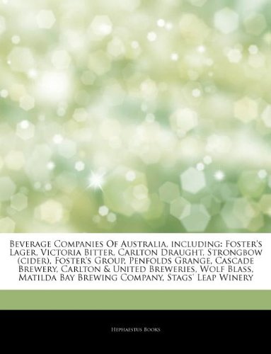 articles-on-beverage-companies-of-australia-including-fosters-lager-victoria-bitter-carlton-draught-