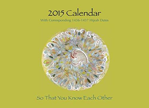Islamic Calendar for 2015