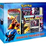 Image of Pokemon Darkrai Premium Box 1 Deck, 2 EX Packs, 1 Pitch Black Foil Darkrai Card & 1 Oversized Darkrai Card