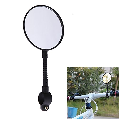 Shatterproof & High-Strength Abs Mountain Road Mtb Bike Bicycle Rear View Mirror Reflective Cycling Safety Flat Mirror^.