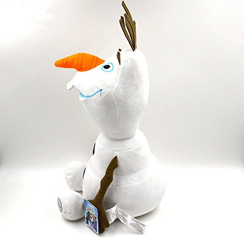 Xidaje Big Frozen Figure Olaf White Snowman 18 Soft Plush Doll