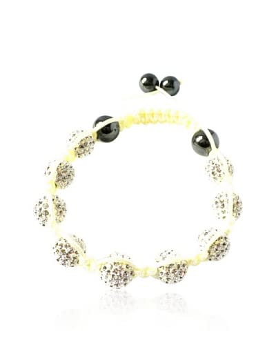 LOVE CRYSTAL LCRY053-BR-WCRY – Pulsera con cristal