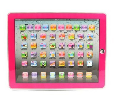 SoLed Y-Pad English Children's Toy Computer Tablet w/ 4 Modes, Volume and On/Off Buttons, Learn & Play, Lights & Sounds (Pink) (Tablet For A One Year Old compare prices)