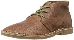 SeaVees Men\'s 12/67 3 Eye Chukka Boot,Brass Waxed Leather,9 M US