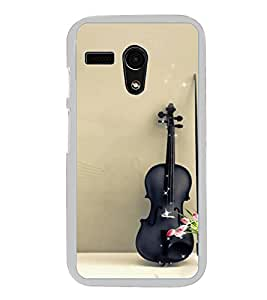 Guitar 2D Hard Polycarbonate Designer Back Case Cover for Motorola Moto G :: Motorola Moto G (1St Gen)