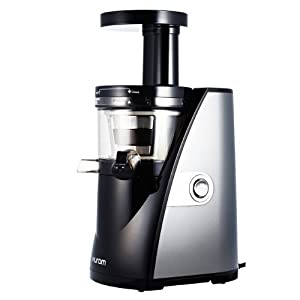 Hurom Titanium Masticating Juicer with 10-year Warranty