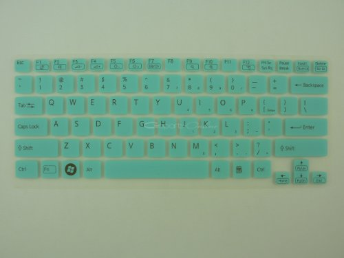 Goparts Online Semitransparent keyboard Lie on, Skin Protector for 14-Inch Sony VAIO E14 E14P series laptop - Crestfallen