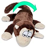 Chuckle Buddies Monkey Laughing and Rolling Soft Toy