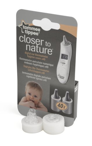Tommee Tippee Closer to Nature Digital Thermometer (40 Refills)