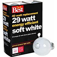 GE Private Label90857Do it Halogen Bulb-29W 4PK SW HALOGEN BULB