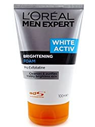 LOreal Paris Men Expert White Activ Brightening Foam ,100ml