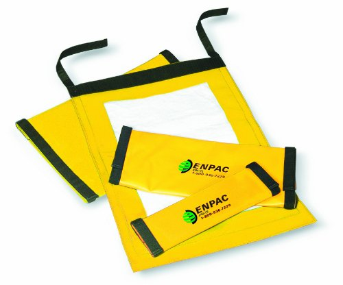 "Enpac 4704-YE Drip Sentinel Hose Wrap, Fits 4"" to 5"" Hose, Medium, Yellow - 1"