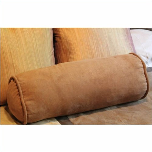 Premium Micro Suede Futon Bolster (Set Of 2) Fabric: Sage front-924004