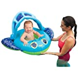Sun Canopy Baby Boat Pool Toy Color: Blue