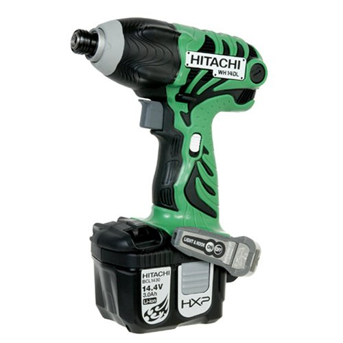 Hitachi WH14DL 14.4-Volt Lithium Ion Cordless Impact Driver