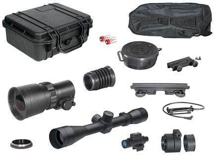 ATN PS22-2I Day/Night Hunter Kit w/ Leupold VX-II 3-9x40mm NVDNPS222ILH3