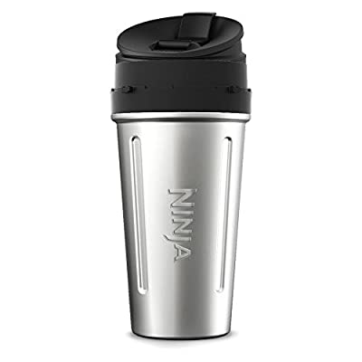 24 oz. Stainless Steel Nutri Ninja with Sip & Seal Lid