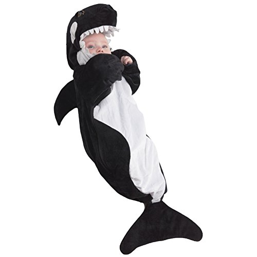 Baby Killer Whale Costume Size Newborn to 6 Months