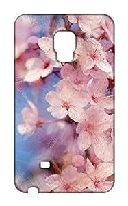 Samsung Galaxy Note Edge Floral Print Design Mobile Case Hard Back Cover for girls - Printed Designer Cover - SGNEFLRLB128