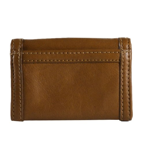 Marc By Marc Jacobs Marc by Marc Jacobs Totally Turnlock Slim Card Case Oak Brown
