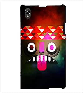 PrintDhaba Cartoon D-4389 Back Case Cover for SONY XPERIA Z1 (Multi-Coloured)