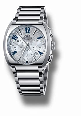 Oris Men's 676 7574 4061MB Frank Sinatra Chronograph Watch