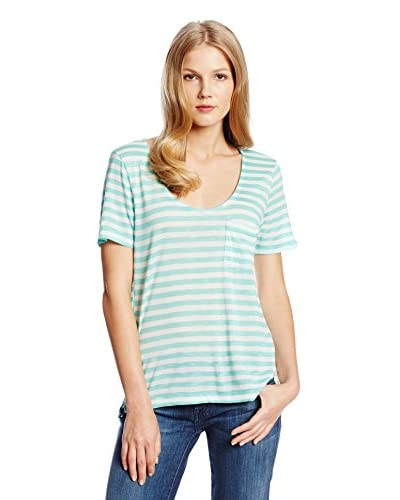 Splendid Women's Glen Valley Stripe Pocket Tee