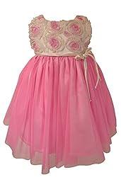 Faye Pink Soutache Cremony Dress 4-5Y