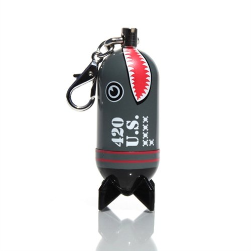 CAPSLs Shark Bomb Keychain & Zipper Pull - 1