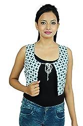 Goodwill Impex Rayon Sleeveless Jacket Size: _XXL
