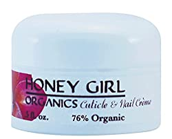 Honey Girl Organics Cuticle and Nail Creme, 0.5 Fluid Ounce