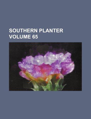 Southern planter Volume 65