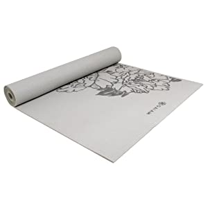 Gaiam Prosperity Yoga Mat (Gray Peony)