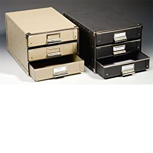 Amazon.com: Leuchtturm1917 DURA File Box - Case With 3 drawers A4