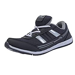 Castel Mens Grey Canvas Sports Shoes 7 UK