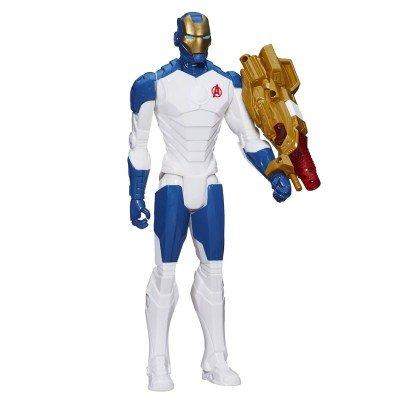 Figurine électronique Avengers : Série Héros Titan 30 cm : Iron Man