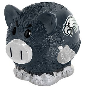 NFL Philadelphia Eagles Resin Large Thematic Piggy Bank