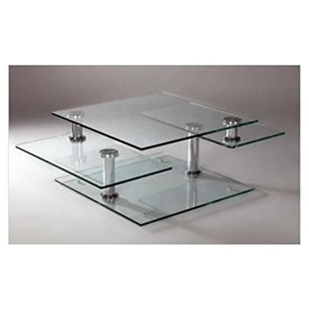 Maddox Coffee Table in Chrome