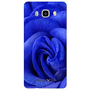 iSweven Luxurious Printed high Quality Blue Petals Design Back case cover for Samsung Galaxy J5 (2016) j51306