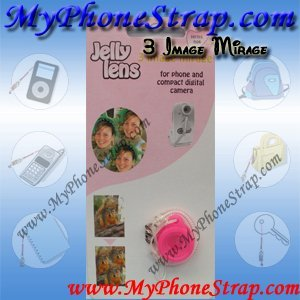 3 Image Mirage Special Effect Lens for Digital Camera, Cell Phone Camera By Jelly Lens (Jelly Lens compare prices)