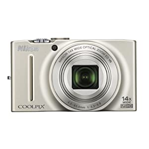 Nikon COOLPIX S8200 16.1 MP CMOS 1080p Digital Camera with 14x optical Zoom-NIKKOR ED Glass Lens, 3 inch LCD Screen