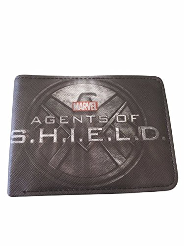 Marvel Comics AGENTS Of SHIELD TV Series Logo Bi-Fold WALLET (Marvel Agents Of Shield Wallet compare prices)
