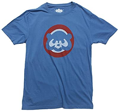 Chicago Cubs Retro Cubbie-Bear Logo T-Shirt by Red Jacket