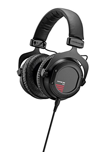 beyerdynamic Custom One Pro Plus Headphones with Accessory Kit and Remote Microphone Cable, Black