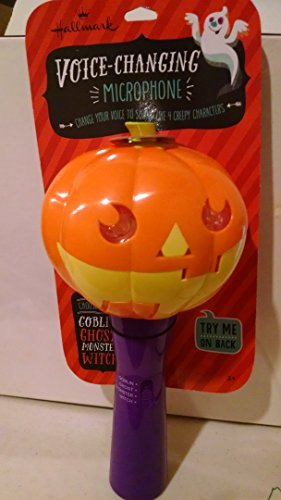 HALLMARK VOICE CHANGING PUMPKIN MICROPHONE - 1