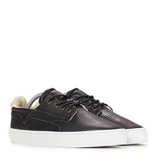 Clear Weather Eighty Low Top Shoes - Black Leather - 9 Men's / 10.5 Women's
