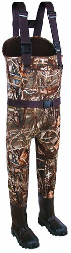 Allen Company  Jersey Mossy Oak Duck Blind Camo Neoprene Chest Bootfoot Chest Wader (Size 10)