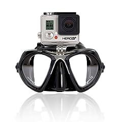 Buy GoPro Scuba Diving GoMask w  Mount for Hero 1, 2, 3, 3+ by XS Scuba by XS Scuba