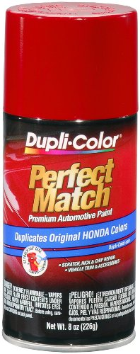 Dupli-Color BHA0955 Milano Red Honda Perfect Match Automotive Paint - 8 oz. Aerosol (Red Honda compare prices)
